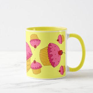 Mug Petits gâteaux roses