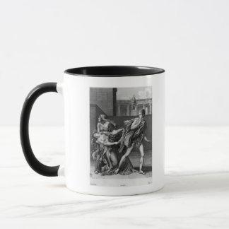 Mug Phaedra, Oenone et Hippolytus