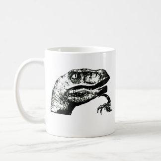 Mug Philosoraptor - bonjour ?