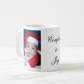 Mug Photo de coutume de confort et de joie
