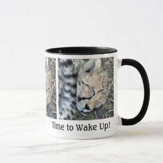 Mug Photo de CUB de guépard de sommeil