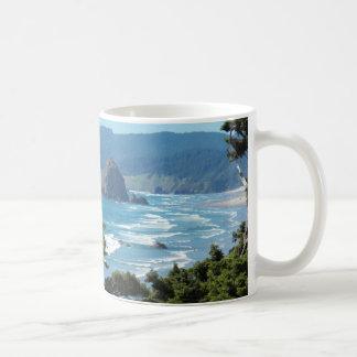 Mug Photo de paysage marin de l'Orégon