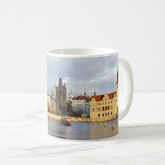 Mug Photo de souvenir de Prague de rivière de Vlatva