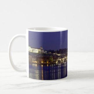 Mug Photo de souvenir de vue de nuit de Prague