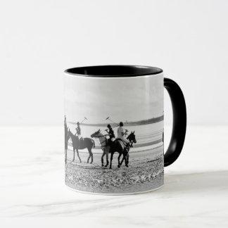 Mug Photo occidentale de la plage B&W de sables de