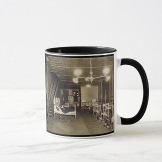Mug Photo-Pompiers historiques du cru Ca 1918 dans les