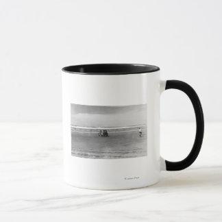 Mug Photographie de scène de plage de l'océan