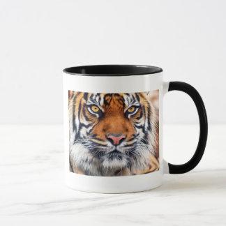 Mug Photographie masculine de peinture de tigre