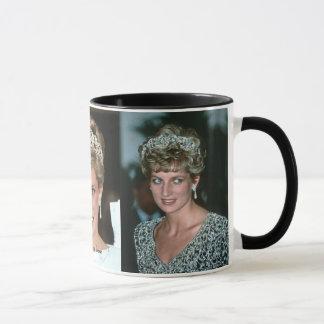 Mug Photos de princesse Diana Tiara 3x de HRH