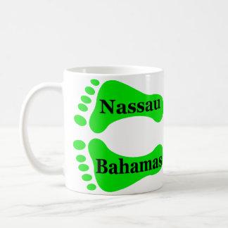 Mug Pieds nus de Nassau Bahamas