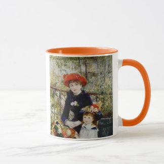 Mug Pierre un Renoir | deux soeurs, ou sur la terrasse