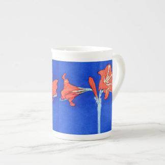 Mug Piet Mondrian - peinture de fleur de beaux-arts