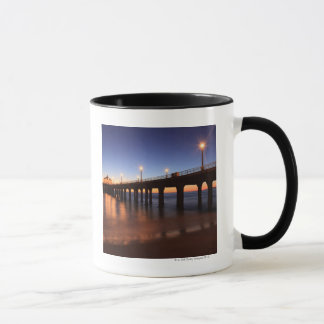 Mug Pilier de Manhattan Beach au coucher du soleil, la