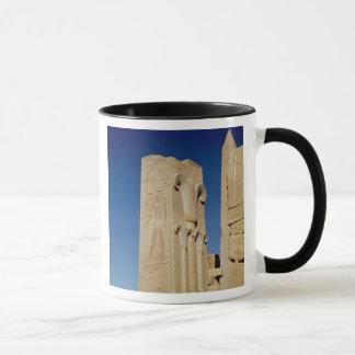 Mug Pilier décoré des plantes stylisés de papyrus