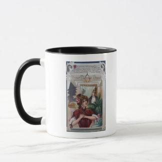 Mug Piliers de femme et d'homme des côtés