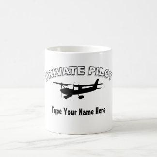 Mug Pilote privé