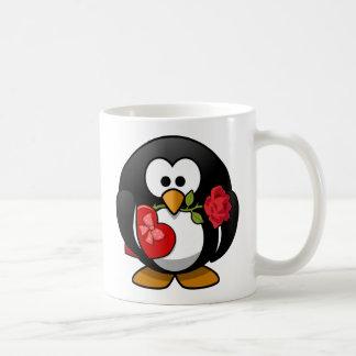 Mug Pingouin de heureuse Sainte-Valentin