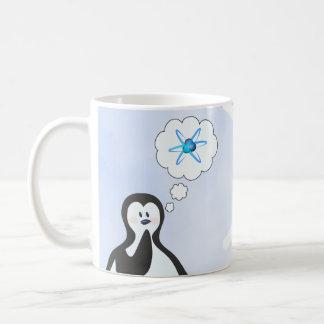 Mug Pingouin de physique nucléaire + Flocon de neige