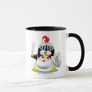 Mug Pingouin médiéval de chevalier