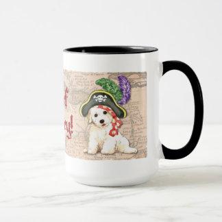 Mug Pirate de Bichon Frise