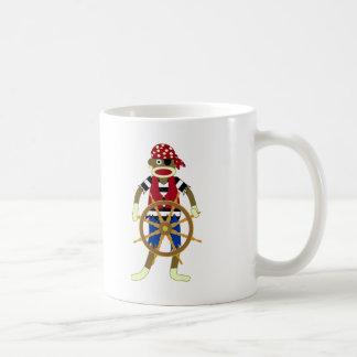 Mug Pirate de singe de chaussette