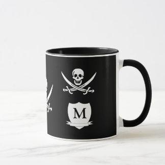 Mug Pirate et monogramme