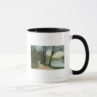 Mug Piste indienne de parc de Maplewood