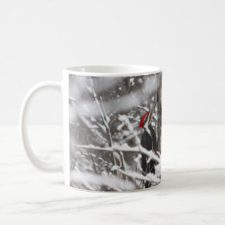 Mug Pivert en hiver