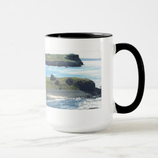 Mug plage de rochers de steeptakeoff