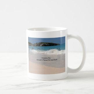 Mug Plage rose du sable des Bermudes