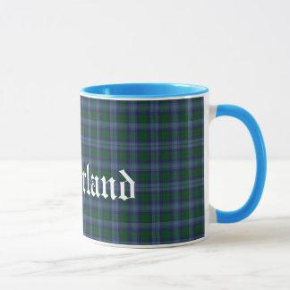 Mug Plaid de tartan écossais fait sur commande de clan