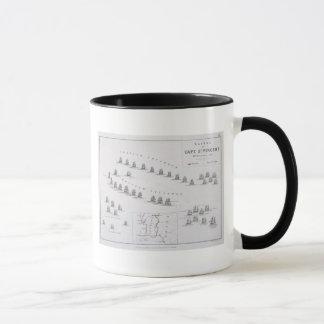 Mug Plan de la bataille de St Vincent, 14ème Febru de