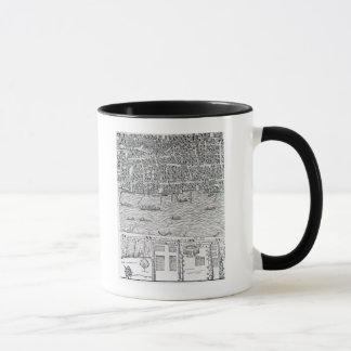 Mug Plan de Londres, c.1560-70