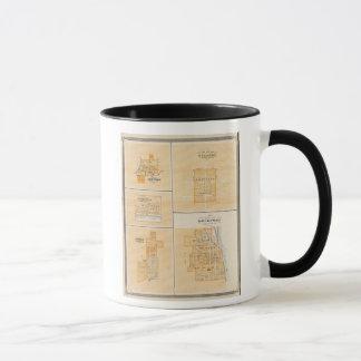Mug Plan de Rockport, Spencer Co avec Everton