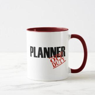 Mug Planificateur QUI N'EST PAS DE SERVICE