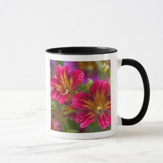 Mug Plans rapprochés peints de langue de leurs fleurs