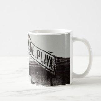 Mug Plaque de rue noire et blanche