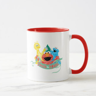 Mug Plate-forme le Sesame Street de Hall