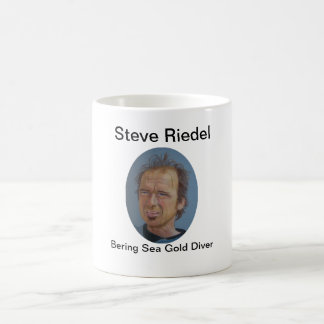 Mug Plongeur d'or de mer de Steve Riedel-Béring sur la