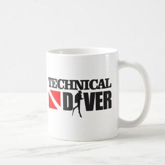 Mug Plongeur technique 2