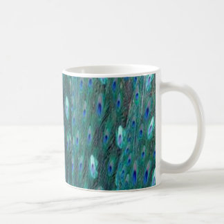 Mug Plumes brillantes de paon