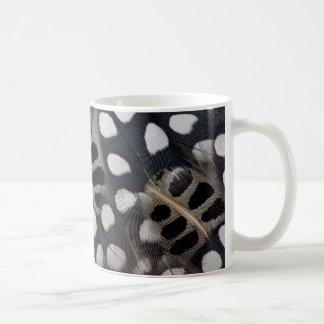 Mug Plumes repérées noires et blanches