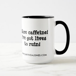 Mug Plus de caféine !