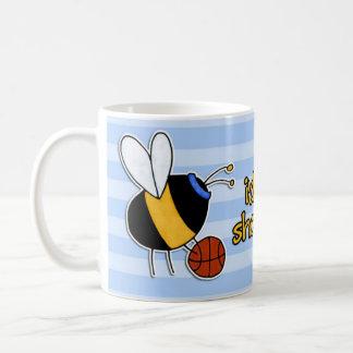 Mug plutôt cercles de tir d'abeille