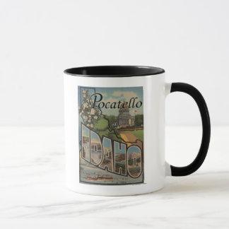 Mug Pocatello, Idaho - grandes scènes de lettre