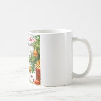Mug Poème de belle-fille - conception de Noël