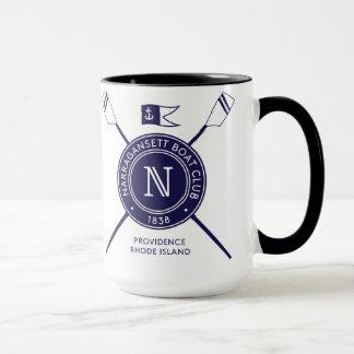 Mug Poignée noire/tasse intérieure de NBC