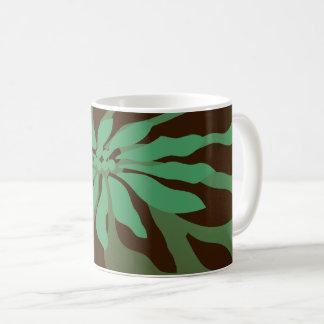 Mug Poinsettia moderne de Noël