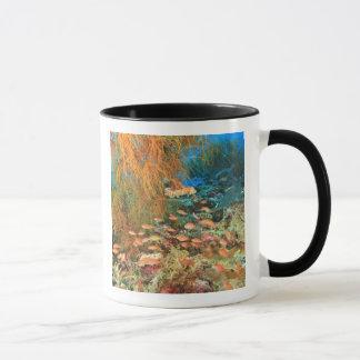Mug Poissons d'Anthias et corail noir, île de Wetar,