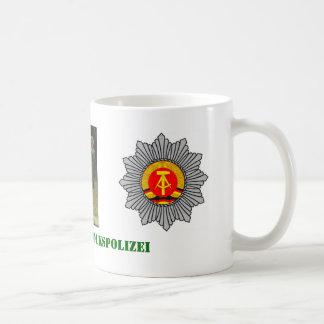 Mug Police Allemand de l'Est de caserne